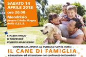 convegno cane di famiglia mendrisio 2018